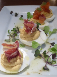 Deviled Eggs, the Beer Kitchen