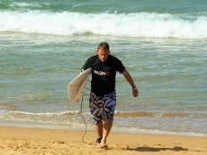 Manly Beach surfer