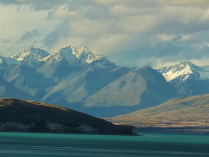 The majestic Lake Tekapo