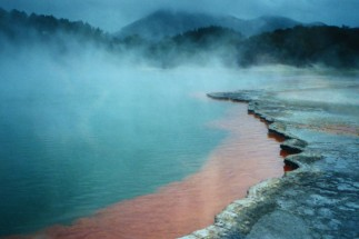 Volcanic Landscapes near Rotorua