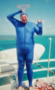 Tinky Winky at the Great Barrier Reef