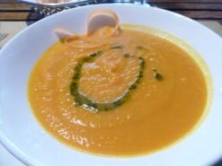 Pumpkin Soup at Zucca