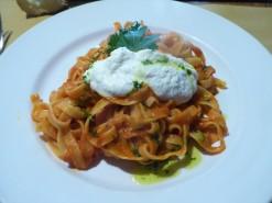 Pasta with Fresh Riccota