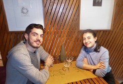 Julien & Melodie, charming lunch companions