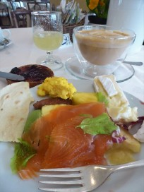 A beautiful breakfast at spa hotel Miramonti