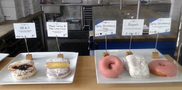 Only a few of the tough decisions to make at Blue Star Donuts