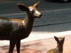 Bambi and mom?