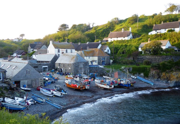 The miniscule village of Cadgwith Cove