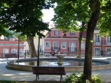 A quiet park in Graca