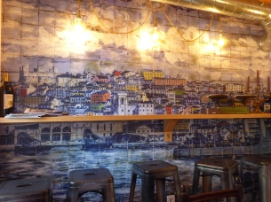 The beautiful mural of Lisbon at Vicente