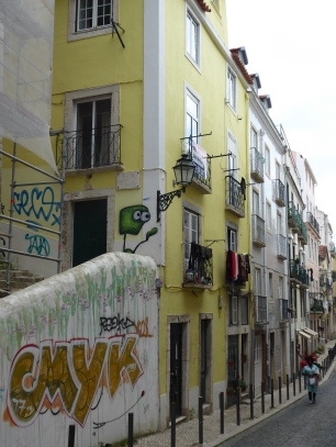 Colorful Lisbon streets