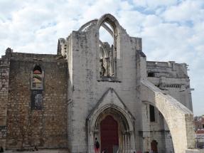 Convento Carmo ruins
