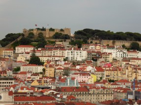 View of Castel Sao Jorge, Lisbon
