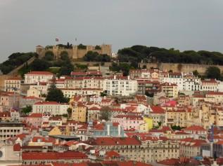 View of Castel Sao Jorge, Lisbon