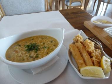 Lunch at Cais da Estação, Sines