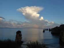 Sunset at Praia Dona Ana, Portugal's Algarve