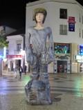 Bizarre sculpture in Lagos