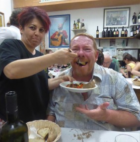 """An """"I Love Lucy"""" moment in Rome"""