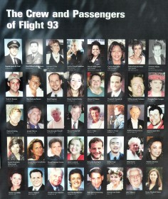 Remembering the Passengers and Crew of Flight 93