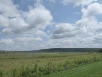The surrounding countryside near Shanksville, Pennsylvania