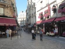 Typical Latin Quarter Scene in Paris