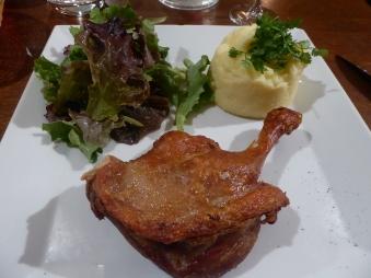 Roast Lefg of Duck