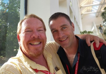 With my friend Tullio
