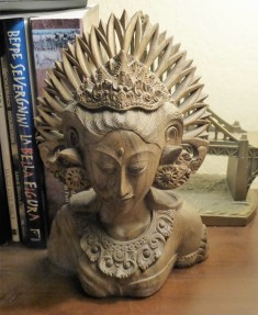 My Balinese Rice Queen carving