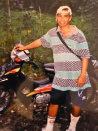 Putu and his motorbike