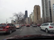 Driving Lake Shore Drive, Chicago