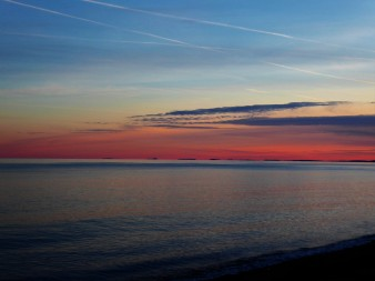 The coast of New Hampshire