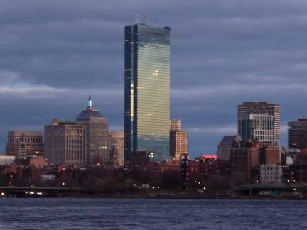 The Hancock Tower, Boston