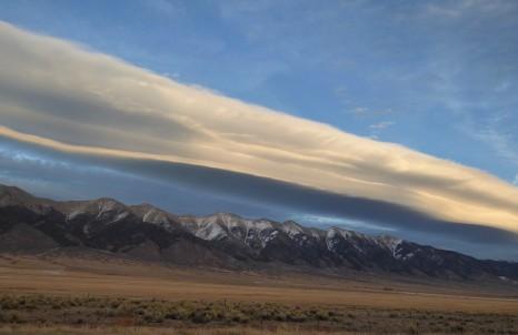 Driving westbound through the Colorado Rockies