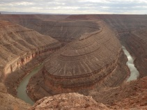 The Goosenecks of Utah... symbolic of a radical about face turn my life was about to make?