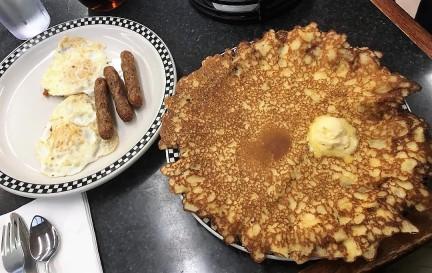 Breakfast at Pamela's in Pittsburgh