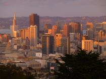 Normal View (with a zoom lens) of downtown SF from my apartment