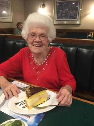 Norma rings in the New year with Boston Cream Pie