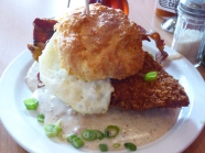 Chicken and Biscuits in Sal Lake City