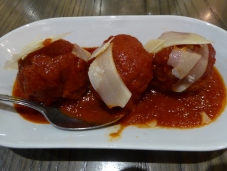 Meatballs at Dinotto's