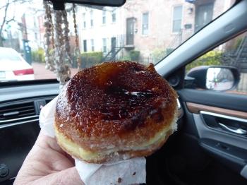 A Creme Brulee Donut