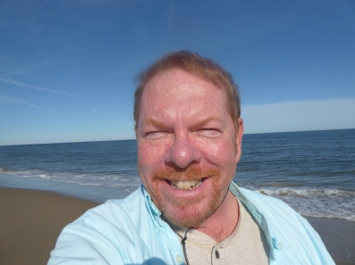 A sunny day at Sandbridge, Virginia Beach