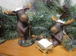 Marsha's Moose Nativity