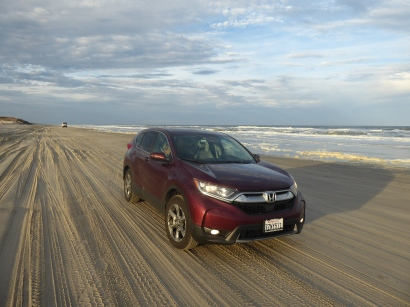Driving the beach at Corolla, NC