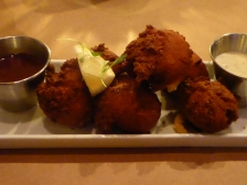 So glad I'm not a zombie: they don't eat Hushpuppies!
