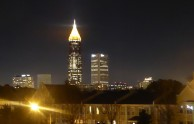 and Atlanta by night...