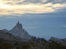 Near the Arizona/California border