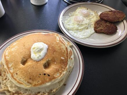Another stack of awesome pancakes in Dallas