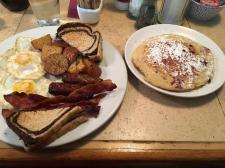 Breakfast at the Corner Cafe, Newport