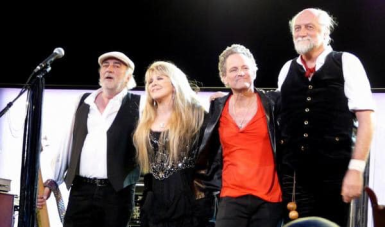 """The """"Say You Will"""" line up om tour without Christine. (Photo courtesy of Art Swift)"""