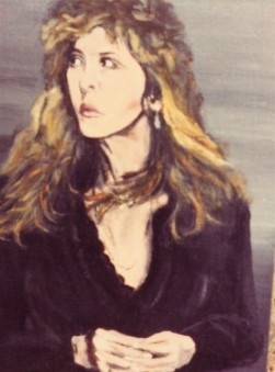Painting of Stevie circa 1983
